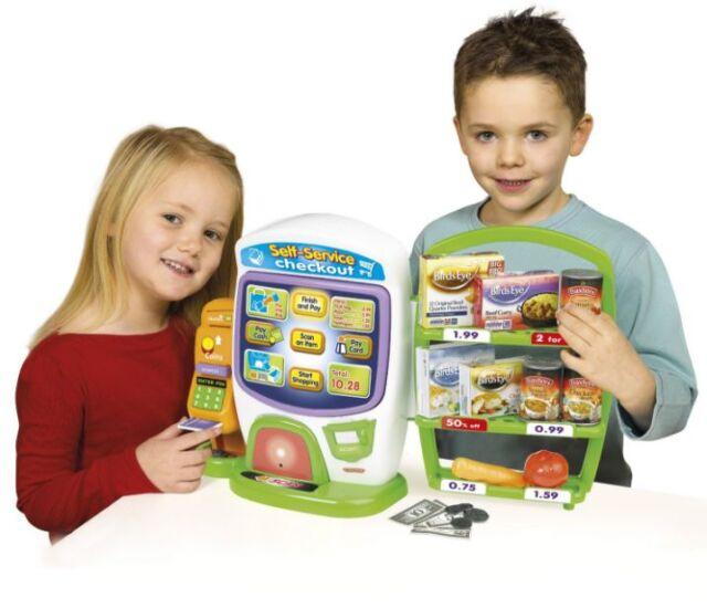 Casdon Toy Talking Self Service Checkout Till Supermarket