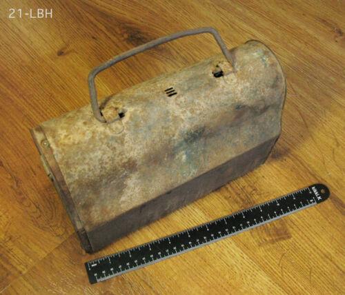 ANTIQUE MINERS LUNCHBOX - GLEESON AZ - OLD MINING MINE ARTIFACT BISBEE