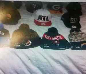 NFL SNAP BACK HATS AND TOQUES