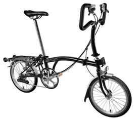 Brompton M6L Black Edition bicycle - more photos coming shortly
