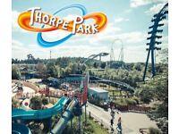 2 Thorpe Park Tickets - ANY DAY*