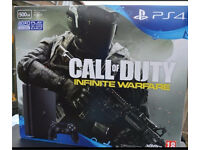 Brand new unopened ps4 slim 500GB with Call of duty: infinite warfare with argos receipt
