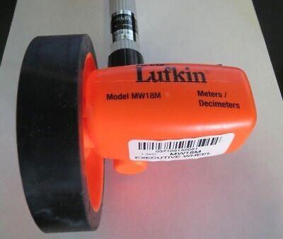 Lufkin MW18M Executive Measuring Wheel Meters / Decimeters USA