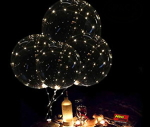 LED balloons for parties