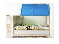 Ikea kura reversible single bed