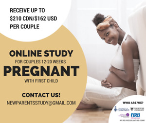 12-20 weeks pregnant? Participate in a couples study!