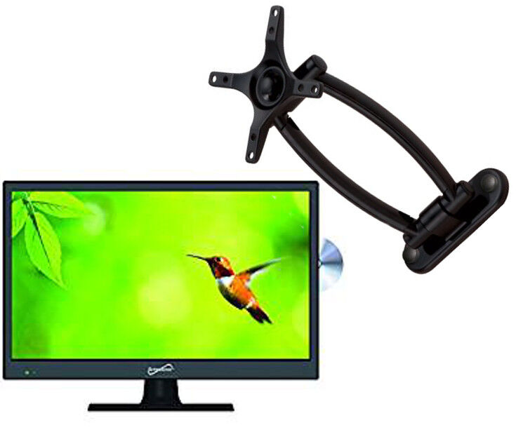 """Supersonic 15.6"""" 720p HD LED TV/DVD Combo (SC-1512) W/ Wall Mount Bulit in DVD"""