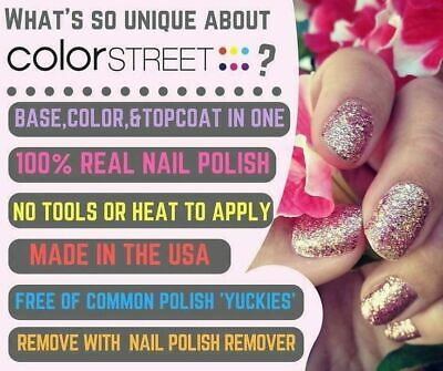 Color Street Nail Polish Strips FREE SHIPPING