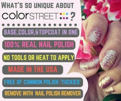 LOWERED MY PRICES Color Street Nail Polish Strips Free Twosie & Shipping