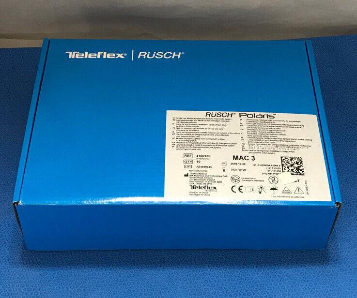 Teleflex 4150130 Rusch Laryngoscope Blade, MAC 3 - box of 10