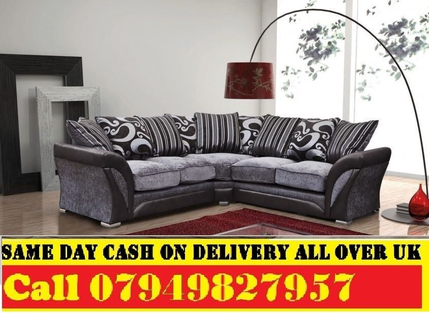 50% Off BRAND NEW CORNER FABRIC SOFA SUITE IN LEATHERETTE STYLEin Edmonton, LondonGumtree - Specifications Brand New High Quality Chenille Fabric Hardwood Frame Chrome Legs Foam Seats Dimensions Depth 75cm Height 75cm Width 230cm x 230cm 3 Seater Width 205cm 2 Seater Width 180cm Corner Sofa 359 3 2 Seater Sofa 359