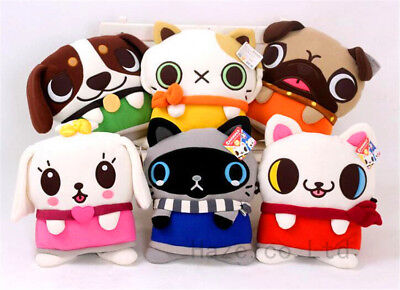 Canimals Can Animal Character Plush Doll Stuffed Lumbar Home Pillow Cushion