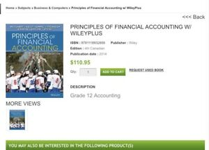 Principles of financial accounting by WILEY 4th edition