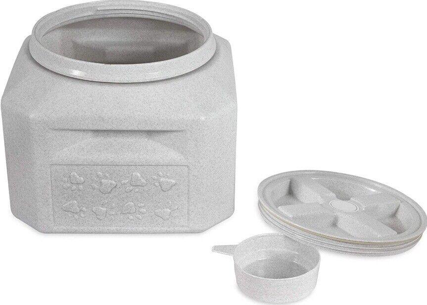 airtight pet food storage container 15 lb