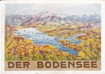 Der Bodensee Panoramakarte gl1950? D1901