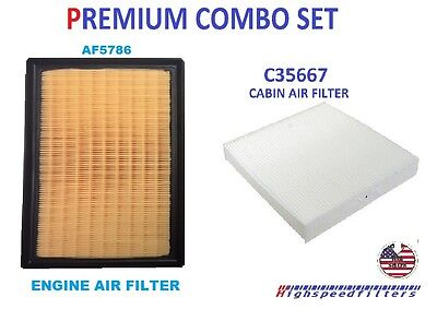 COMBO Air Filter & Cabin Filter For TOYOTA CAMRY HYBRID & LEXUS