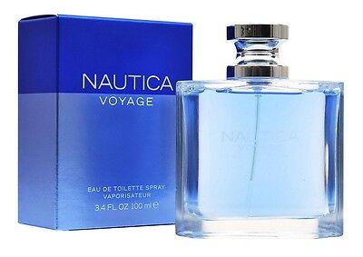 Nautica Voyage Men 3.4 oz 100 ml Eau De Toilette Spray Nib Sealed