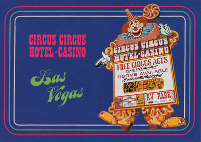 Lot of 6 Vintage Las Vegas Postcards - 1970s?