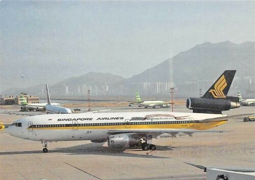Airline Singapore Airlines DC-10 9V-50B Hong Kong