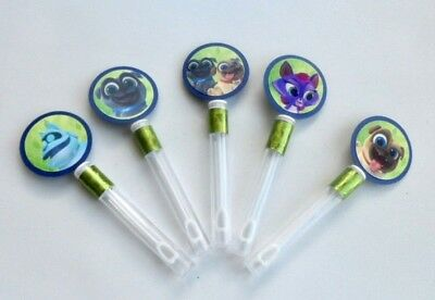 Puppy Dog Pals Party Favors/ Bubble Wands / Goodie bag/ Birthday party SET OF 10
