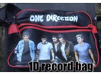 One direction record bag - 50p