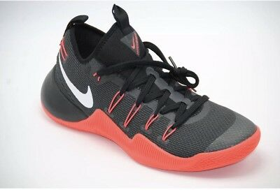 Men's Nike HYPERSHIFT BASKETBALL SHOES BLACK CRIMSON 844369 016 Size 11