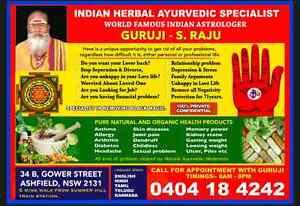 World famous Indian Astrologer & Spiritual Healer Pandit S. Raju Westmead Parramatta Area Preview