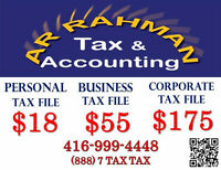 Small Business Tax? FILE IT NOW WITH LOW PRICES AT AR RAHMAN TAX