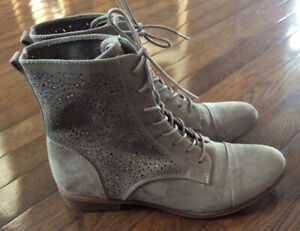 Beautiful new pair  swede Graceland ankle boots,bought in the UK