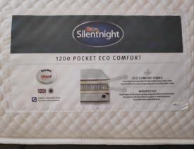 Silentnight 1200 Pocket Eco Comfort double mattress (Silent Night)