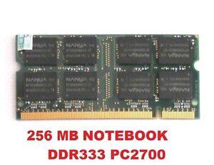 MEMORIA-RAM-DDR-256-MB-1x-256MB-DDR1-333mhz-PC2700-per-portatili-200-PIN-2-5V