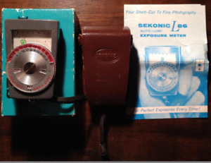 Vintage Sekonic L86 Light/Exposure Meter