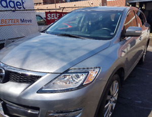 7 seater Mazda CX9 fully loaded with only 79K kms