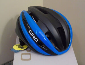 Giro Synthe Bike Helmet (Blue/Matte Black, SM)