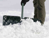 snow removal ( shovel) for center city