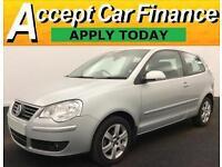 Volkswagen Polo 1.2 ( 60PS ) 2008MY Match .FROM £15 PERWEEK