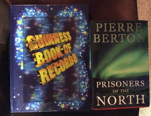Prisoners of the north hard cover book! By Pierre Berton