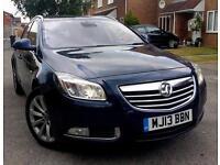 2013 Vauxhall Insignia 2.0 CDTi ecoFLEX 16v Elite 5dr (start/stop) NEW CAMBELT