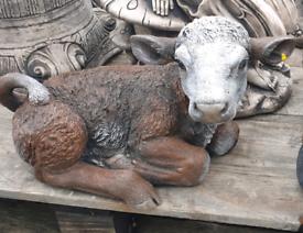 Stone calf Garden ornaments