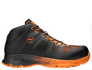 Mens Timberland PRQ(O Velocity EH  Mid Allov Toe Work Shoes
