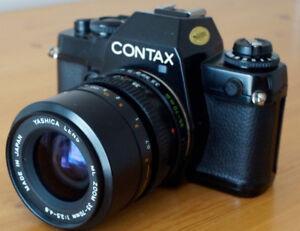 Contax 139 Quartz with ML 35mm-70mm Zoom