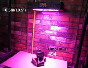250W LED Grow Light High Power Full Spectrum for Hydroponics Ind