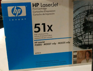HP Laserjet 51x Printer Ink/toner cartridge