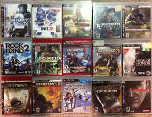 Playstation 3 Games!! Over 90 Games!!