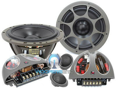 "MOREL HYBRID 602 6.5""  CAR 2WAY COMPONENT SPEAKERS MIDS CROSSOVERS TWEETERS NEW for sale  Shipping to South Africa"