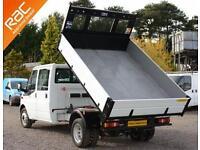 2014 64 FORD TRANSIT 2.2 350 DRW 1D 124 BHP DIESEL TIPPER