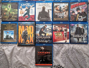 Assorted DVDs and Blu-rays for $ale!!