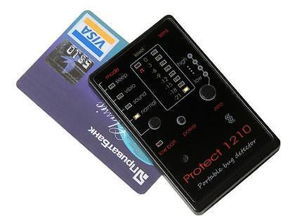 CREDIT CARD SIZED MINI BUG SPY CAMERA RF GSM DETECTOR