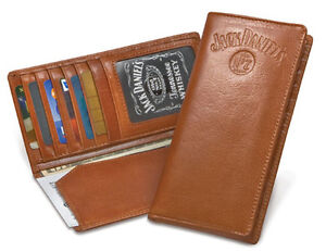 JACK-DANIELS-WHISKEY-SIGNATURE-RODEO-WALLET-TAN-NEW