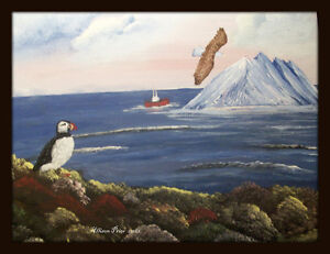 Learn how to paint Jelly Bean Houses, and Newfoundland scenes St. John's Newfoundland image 5
